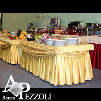 Tablecloths for Buffet for hotel and restaurant