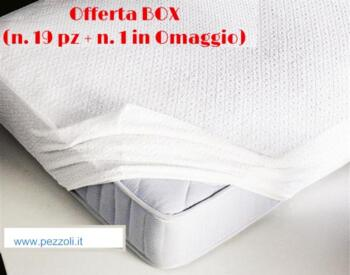 BOX Mattress Cover for Double BED size 90/100x200 (n.19+1 Free)