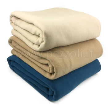 PILE BLANKET POLIESTERE SINGLE SIZE