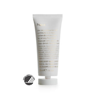 HOP HAIR&BODY GEL ECO FRIENDLY TUBE €0,25 pcs (box 216pcs)