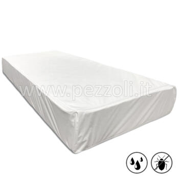 Coprimaterasso ANTI CIMICI IMPERMEABILE con zip ANTI BED-BUGS