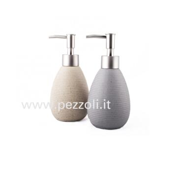 SAND SOAP DISPENSER CERAMIC