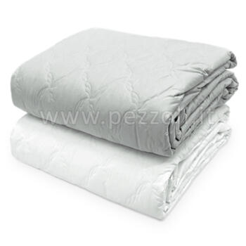 BEA Hotel Quilted bedcover cm 270x270 made in percale cotton fabric