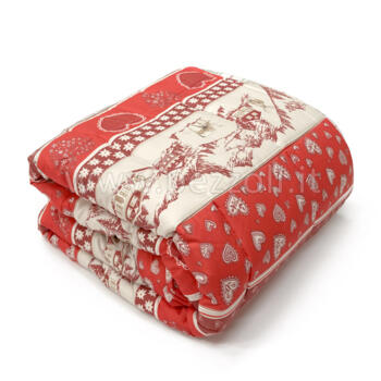 Quilted bedcover Chalet single