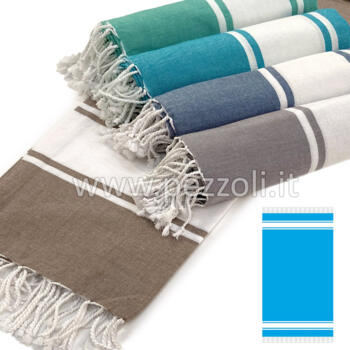 Beach Towels light fouta SOFT 100x200 WITH FRINGES